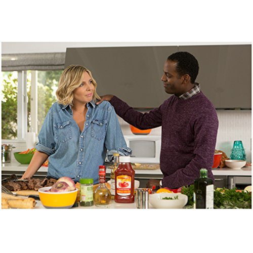 grace-and-frankie-june-diane-raphael-with-baron-vaughn-smiling-8-x-10-inch-photo