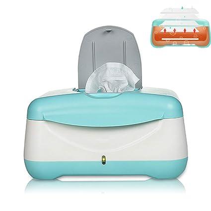 JINRU Bebé Toallitas Calefactor/Caja De Toallitas Desinfección De Caja De Pañuelos, Temperatura Constante