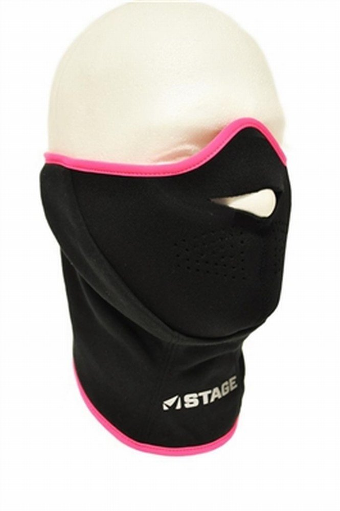 STAGE Facemask Black One Size HRP Distributing STGY-002