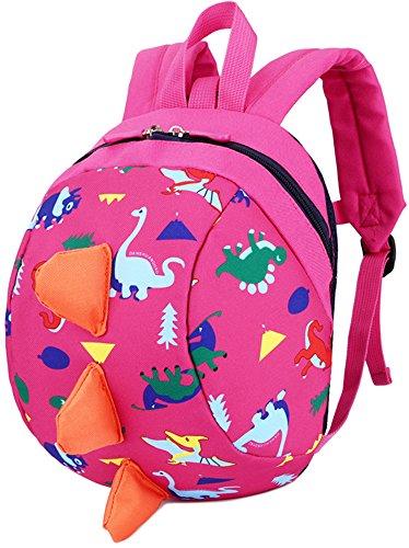 Baby Kids Toddler Walking Backpack Reins Bag(Pink) - 9