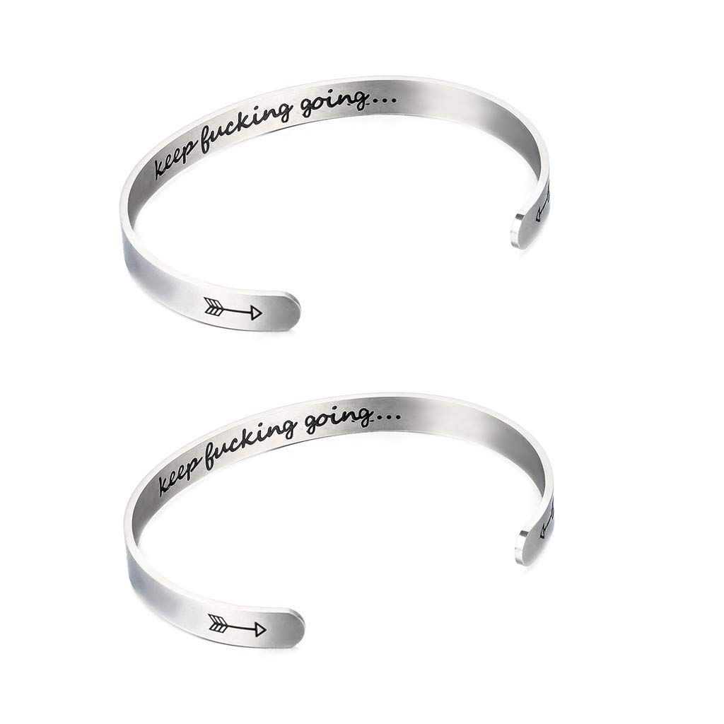 callm Bangle Fashion Multilayer Handmade Hollow Pendant Bracelet Bangle