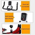 KEKEYANG-Ciclismo-Spinning-Bike-Indoor-Cycling-Cyclette-con-multifunzionali-monitor-di-frequenza-cardiaca-Sensori-Lownoise-professionale-Indoor-Cycle-fitness-regolazione-della-resistenza-200kg-Bear