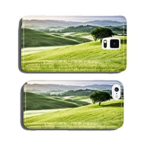 Sunrise over the green fields in Tuscany cell phone cover case iPhone6