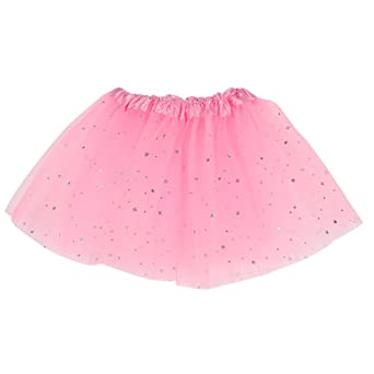 Brightup Baby Kids Girls Sequins Party Dance Ballet Tutu Skirt Dress Fairy Dress