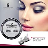 #4: Magnetic Eyelashes Prime Set(4 pcs) for Natural Look 3D Dual Magnet Reusable Best Eyelashes