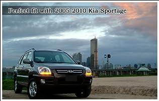 Kia Motors Genuine Front Hood Grill /& Rear Trunk KIA Logo Emblem 1-pc 15cm 5.9