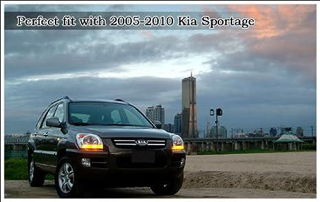 brazo de limpiaparabrisas trasera with tapa 2pc para 2005-2010 Sportage: Amazon.es: Coche y moto