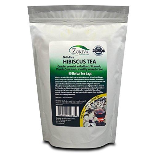 Cheap Hibiscus Tea Bags 90 premium bags 100% Pure bursting with all-natural antioxidants