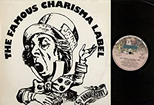 famous charisma label 5th anniversary LP