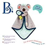 B-Toys-B-Snugglies-Fluffy-Koko-The-Koala-Security-Blanket-Adorable-Baby-Blankie-with-Soft-Fabric-Bpa-Free