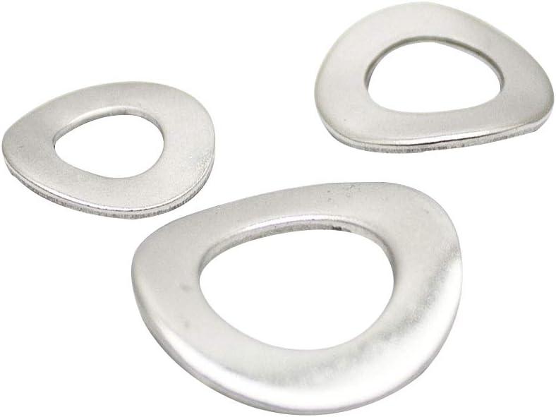 Federscheiben M16 Form B gewellt DIN 137 Edelstahl A2 Unterlegscheiben Beilagscheiben Wellscheiben 5 St/ück