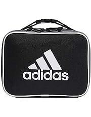 adidas Unisex Foundation Insulated Lunch Bag, Black/White, ONE SIZE