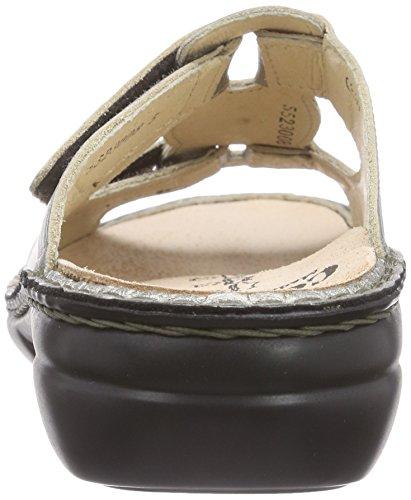 Finn Comfort Pattaya - Sandalias Mujer Plateado - Silber (Espresso)