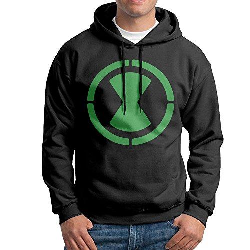 (Ben 10 Omnitrix Logo Men Pullover Sweatshirt)
