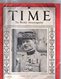 Time Magazine 1933 October 30 Europe s French Policeman