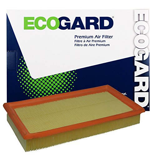 ECOGARD XA5699 Premium Engine Air Filter Fits Ford Edge, Explorer, Taurus, Flex / Lincoln MKX / Mazda CX-9 / Lincoln MKZ, MKS / Ford Police Interceptor Utility, Taurus X / Lincoln MKT / Ford Fusion - Ford Lincoln Mks