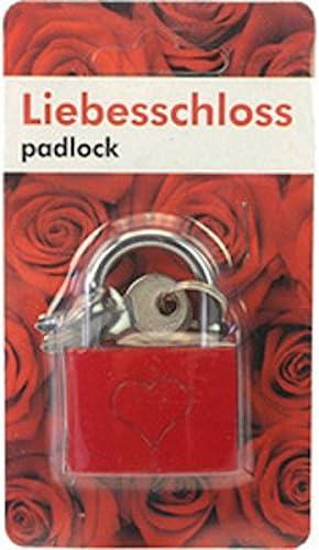 Liebesschloss 41200 Vorh/ängeschloss 55mm Kofferschloss