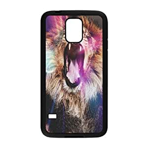 Lion Brand New Cover Case for SamSung Galaxy S5 I9600,diy case cover ygtg540251