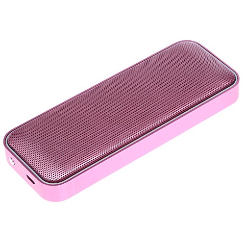 Diamondo BT202 Pocket-Sized Outdoor Bluetooth 4.1 Speaker Super Bass Hands-free Call (Rose Red)