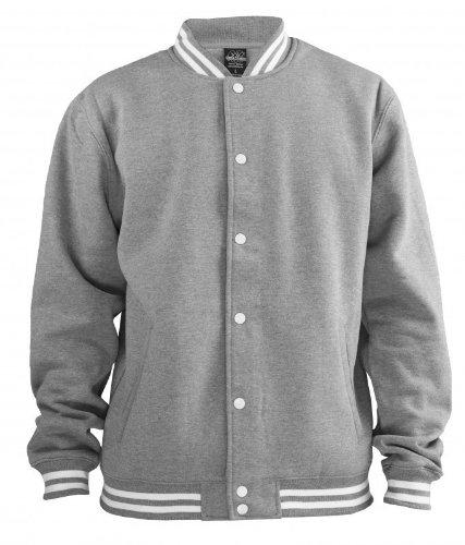 Felpa Nero Classics College Urban Uomo Sweatjacket Wz8YvA7Bq