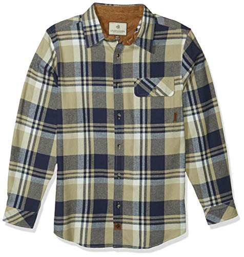 : Legendary Whitetails Mens Buck Camp Flannel Shirt