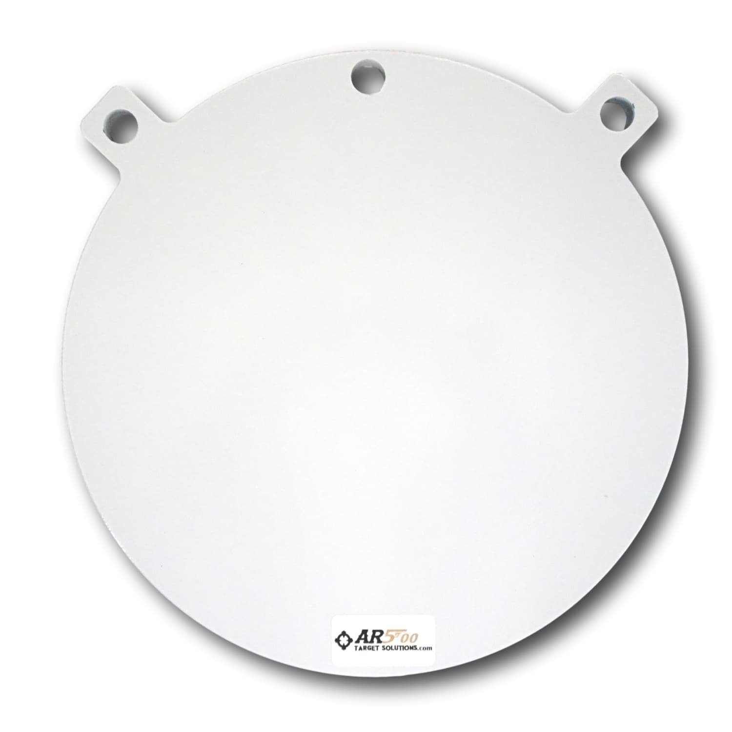 Ar500 Target Solutions- Quality 3/8, 1/2 Thick AR500 Steel Targets- Laser Cut Powder Coated Made in USA (12'', 3/8)