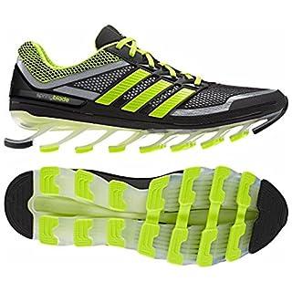af3b7935a01bd adidas Springblade - Men's Black/Green 10 (B00IUQIB20) | Amazon ...