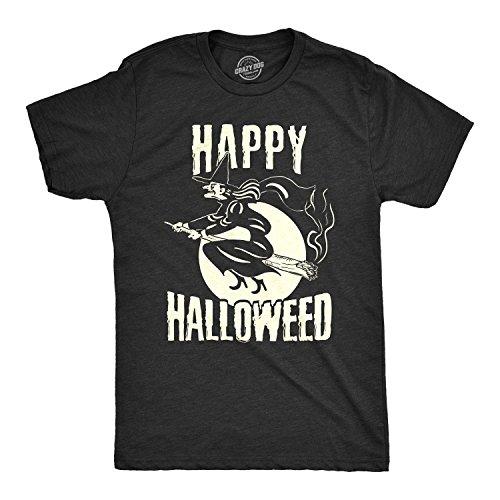 Crazy Dog T-Shirts Mens Happy Halloweed Tshirt Funny