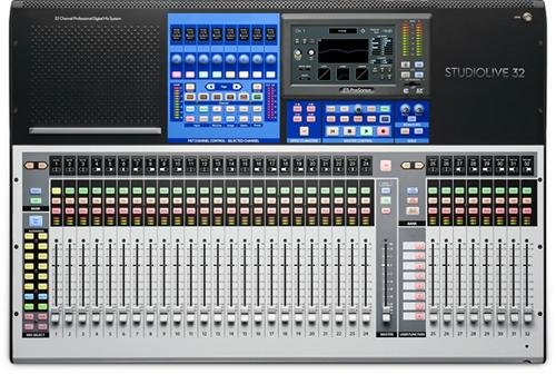 6. PreSonus StudioLive 32 Series III Digital Audio Mixer