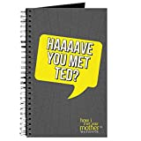 CafePress - HIMYM Have You Met Ted - Spiral Bound Journal Notebook, Personal Diary, Lined