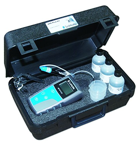 LaMotte 5-0035-01 pH 5 Digital Meter with Case, 0.00-14.00pH Range, 0.01pH Resolution by LaMotte