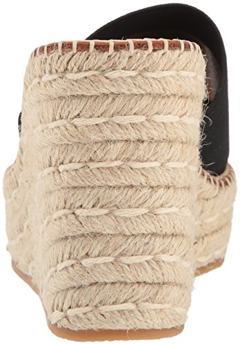 pim Sandal Wedge Dolce Elastic Women's Black Vita Espadrille 7Fq8Ew6gwx