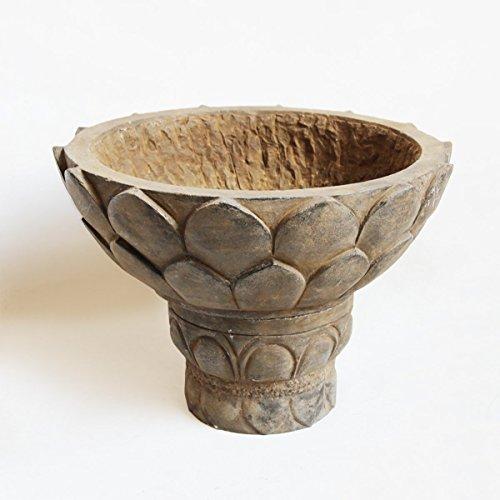 Black Stone Lotus Bowl / Planter
