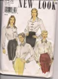 New Look 6452 Careerwear Long Sleeve Blouse with Collar Size A 8-18