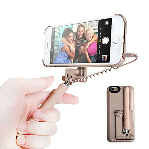 iphone accessories iphone 6 6s selfie stick case dolida iphone 6 6s case with retractable. Black Bedroom Furniture Sets. Home Design Ideas