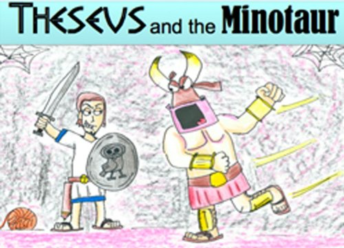 Theseus and the Minotaur (Classics for kids! Book 1) (Theseus And The Minotaur Myth For Kids)