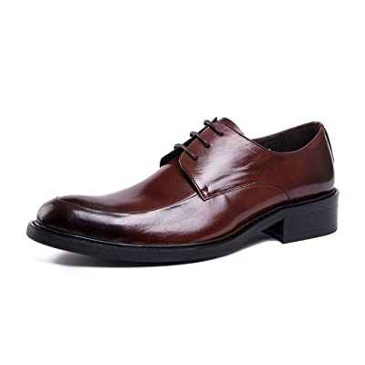 UNbox Mens Formal Leather Lace-Up Oxford Shoes