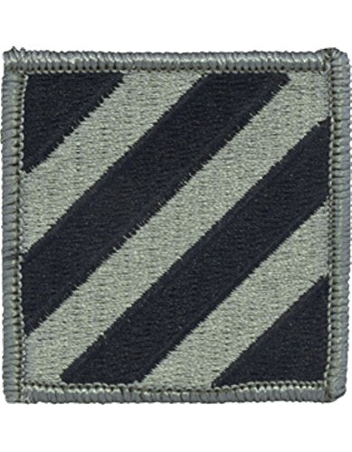 3rd Infantry Division ACU Patch Foliage Green (3rd Infantry Division Patch)