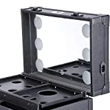 Byootique Black Rolling Makeup Case Trolley