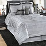 Silver/Black Queen TOB Bedding Set - Signature Design by Ashley Furniture