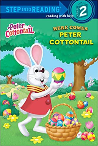 Here Comes Peter Cottontail (Peter Cottontail) (Step into Reading)