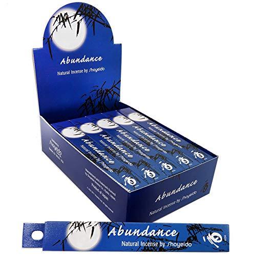 SHOYEIDO Abundance Incense - 1 Pack of 10 Bundles, 40 Sticks per Bundle by SHOYEIDO (Image #1)