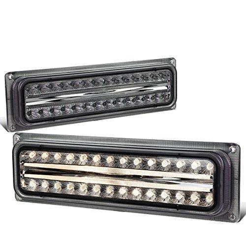 - For Chevy Suburban Tahoe/Yukon Pair of Diamond Cut Smoke Lens LED Look Turn Signal Lights Lamps