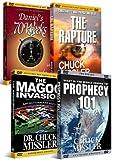 Chuck Missler Prophecy DVD Set Bundle: Daniel's 70 Weeks, Magog Invasion, The Rapture, and Prophecy 101