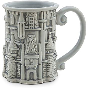 Disney - Sculptured Cinderella Castle Mug - Walt Disney World - NEW