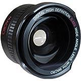 Super Wide HD Fisheye Lens for Olympus Pen E-PL6 E-PL7 OM-D E-M5 E-M10 Mark II (37mm Compatible)