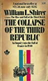 Collapse of the Third Republic, William L. Shirer, 0671785095