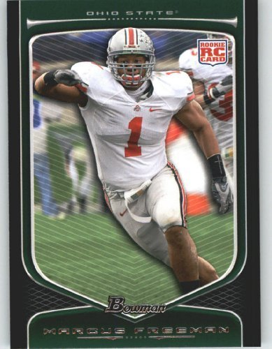 2009 Topps Draft Picks - Marcus Freeman RC - Ohio State (RC - Rookie Card) 2009 Bowman Draft Picks Football Cards #160 - NFL Trading Card