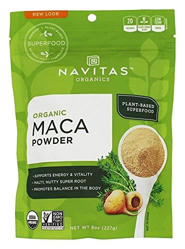 Price comparison product image Navitas Organics Maca Powder,  8 oz. Bag — Organic,  Non-GMO,  Low Temp-DriedGluten-Free