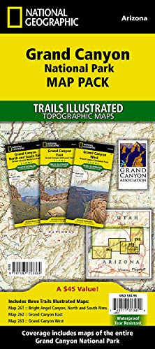 (Grand Canyon National Park [Map Pack Bundle] (National Geographic Trails Illustrated Map))